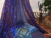 Moskitonetz, Himmelbett 1001 Nacht - blau