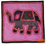 Patchwork Kissenhülle Rajasthan, Einzelstück - 11