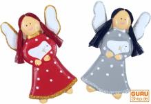 Weihnachtsengel, Schutzengel, Baumbehang Engel 2 er Set