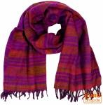 Weicher Goa Schal - pink