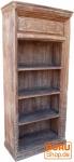 Antikweißes Bücherregal (JH0-153)