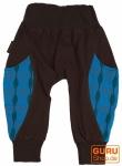Haremshose Pluderhose Pumphose Aladinhose für Kinder - blau