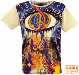Mirror T-Shirt - Peace / vanille