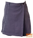 Goa Shorts, Hosenrock - taubenblau