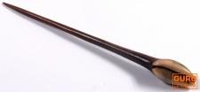 Holz Haarspange, Haarnadel mit Muschel