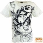 Sure T-Shirt Happy Buddha - weiß
