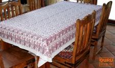 Tischdecke, Tischtuch, Tafeltuch Blockdruck in 3 Größen