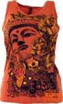 Baba Top Psytrance Top Buddha - orange