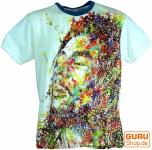 Weed T-Shirt Bob Marley - weiß