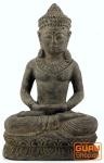 Kleiner sitzender Buddha aus Stein 30 cm