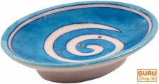 Handbemalte Keramikseifenschale Nr. 16