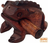 Klangfrosch braun - 10 cm