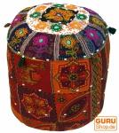 Rajasthan Pouf, Sitzkissen