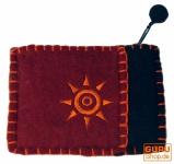 Portemonnaie aus Filz - 3