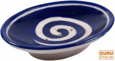 Handbemalte Keramikseifenschale Nr. 13