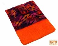 Filz iPad Hülle Herbstlaub orange