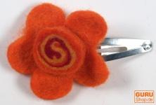 Haarspange `kleine Blume`