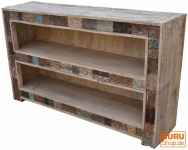 Sideboard Regal mit Blockdruckstempeln (JH0-236)