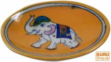Handbemalte Keramikseifenschale Nr. 1