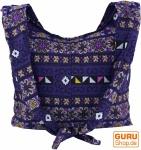 Sadhu Bag, Schulterbeutel, Hippie Tasche Chiang Mai - violett