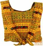 Sadhu Bag, Schulterbeutel, Hippie Tasche Chiang Mai - gelb