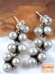 Silber Ohrring Perle