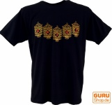 Tibet & Buddhist Art T-Shirt - Gebetsmühle / schwarz