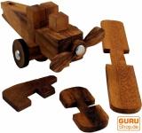 Puzzle Flugzeug, 3 D Holzpuzzle