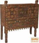 Traditionelle historische Orissa Kommode mit vielen Verzierungen - Modell 5