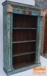 Aufwendig verziertes Bücherregal im Vintage Look - Modell 14