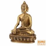 Buddha Statue aus Messing Akshobaya Buddha 10 cm - Modell 8