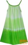 Batik Kinderkleid, Sommerkleid, Trägerkleid, Strandkleid, Mädchenkleid - lemon