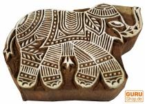 Holz Stempel Elefant