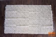 Derber Baumwollteppich, schwarz bedruckt 180*110 cm, Nr. 1
