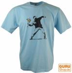 Fun T-Shirt `Blumenwurf`