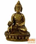 Buddha Statue aus Messing Medizin Buddha