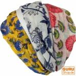 Haarband, Kopfband, Kopfschmuck aus Baumwolle, 3 Stück