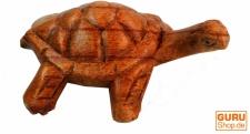 Geschnitzte kleine Deko Figur - Schildkröte 1