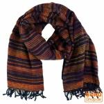 Weicher Goa Schal - nachtblau