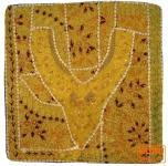 Patchwork Kissenhülle Rajasthan, Einzelstück - 18