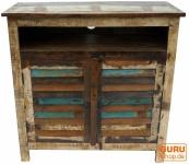 Vintage Kommode aus Recyclingholz