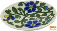 Handbemalte Keramikseifenschale Nr. 5