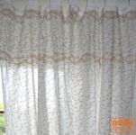 Orientalische Vorhang, Gardine (1 Paar Vorhänge, Gardinen), Golddruck