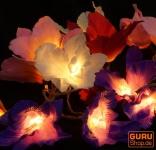 Lotus LED Lichterkette 20 Stk. - bunt