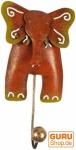 Kleiner Garderobenhaken, Metall Kleiderhaken - Elefant 2