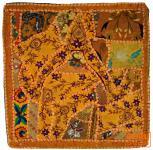 Patchwork Kissenhülle Rajasthan, Einzelstück - 13