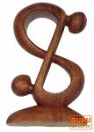 Holzfigur, Statue, Deko Objekt Feng Shui - `Acrobat`