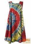 Batik Tunika, Hippie chic, Strandkleid, Sommerkleid