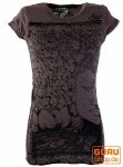 Sure T-Shirt Mantra Buddha - taupe