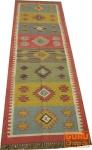 Orientalischer grob gewebter Kelim Teppiche 250*80 cm - Muster 1